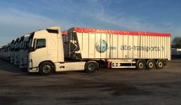 Le transport en vrac solide: une spécialité Avenir Bennes et Services!